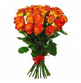 Роза рыжая 25 штук